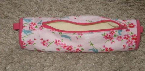 Lined Pencil Case